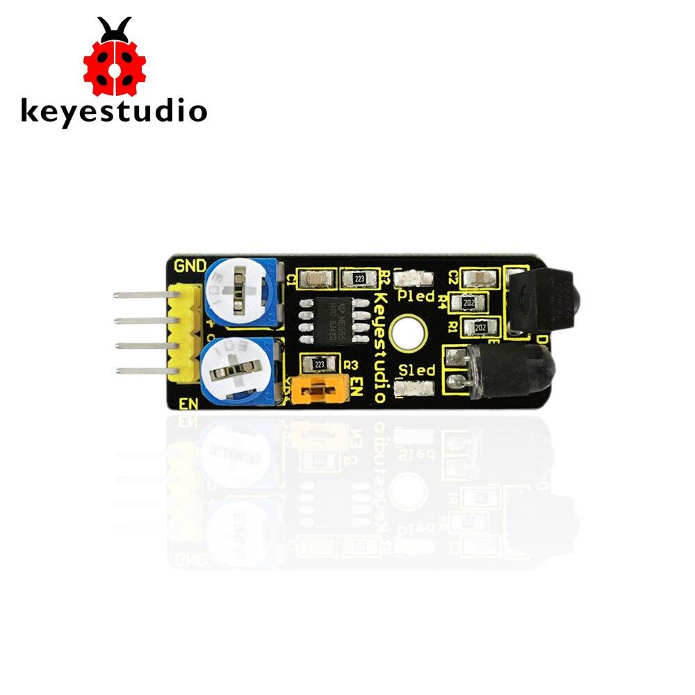 Free Shipping! Keyestudio IR Infrared Obstacle Avoidance Reflection  Sensor Module For Arduino Robot Car