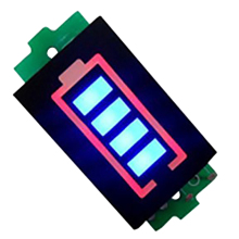 цены Lithium Battery Capacity Indicator Module Blue Display Battery Power Tester Li-Po Li-Ion