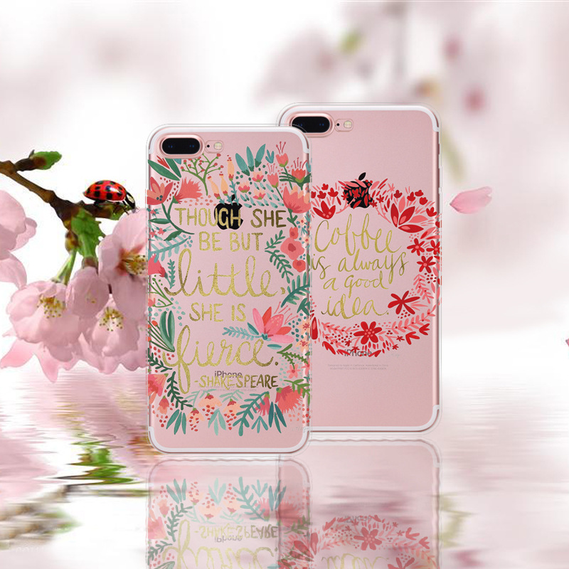 Painted Soft Tpu Phone Case Decorative Pattern Painted Phone Case