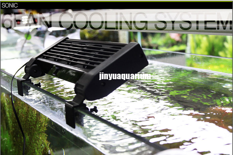 110v 240v Cooling Fan Mini Nano Clip On Aquarium Water