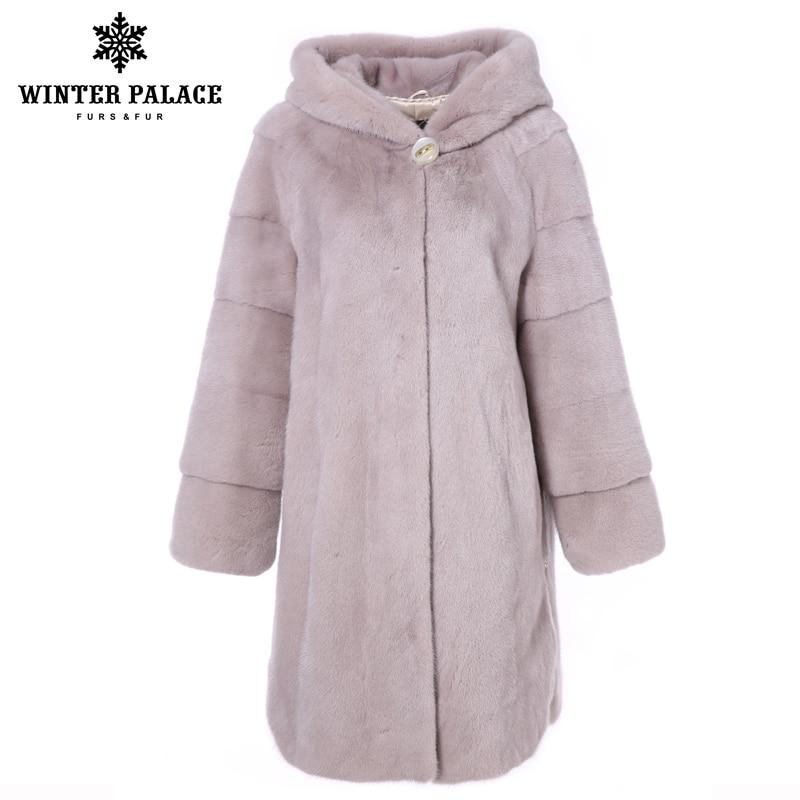 Qualité De Dark Hiver Court Couleur Nouvelle Manteau Femmes Réel pink Fourrure Longue Haute Importation Gray Vison MjzpGqSUVL