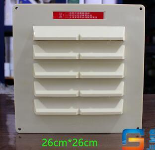 Large Square Temperature Controlled Freezer Balance Window