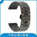 20mm 22mm faixa de relógio de aço inoxidável para casio bem 302 307 501 506 517 EF MTP Series Quick Release Strap Correia de Pulso pulseira