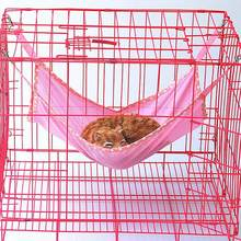Breathable Pet Hanging Bed Mat Mesh Cloth Cat Squirrels Chair Cages Swing Hammock Pet Products(China)