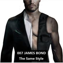 Laix EDC Anti Theft Hidden Underarm Holster Black Nylon   Agent Bond 007 Bag Multifunction Inspector Shoulder Bag