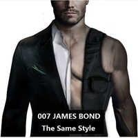 Laix EDC Anti-Theft ukryte pod pachami kabura czarny Nylon-Agent Bond 007 torba wielofunkcyjna inspektor torba na ramię
