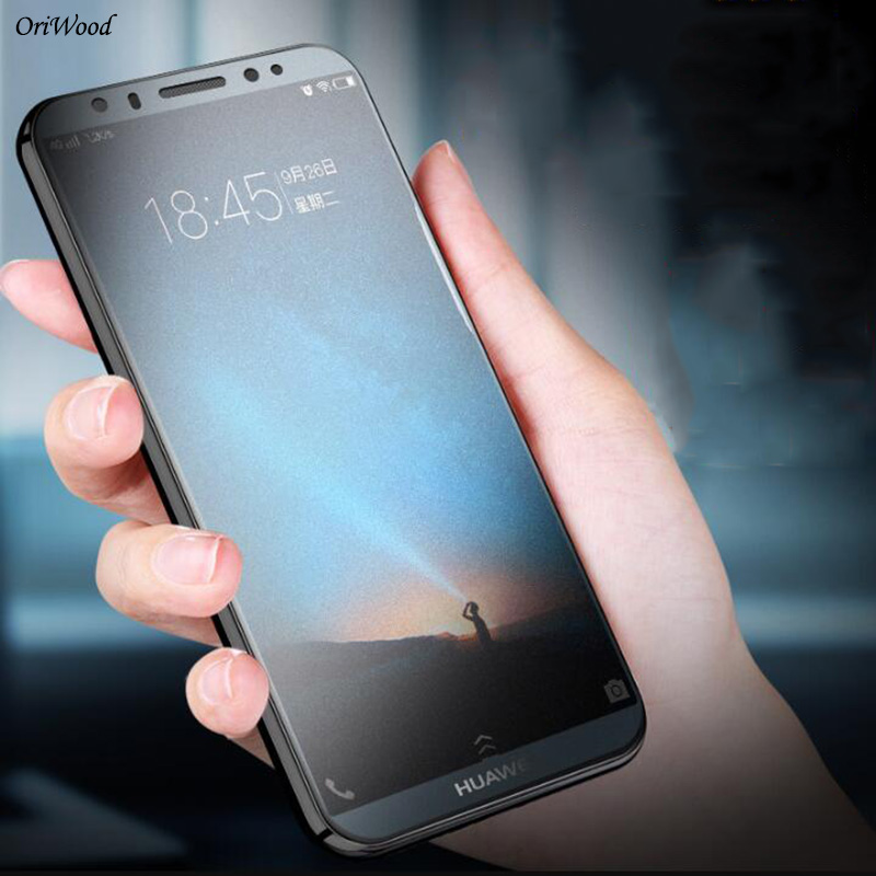 OriWood Anti Fingerprint Matte Frosted Tempered Glass For Huawei Y9 2018 Y7 Y6 Y5 Prime 2017 2018 Y5 Y6Pro 2018 Screen Protector