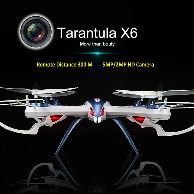 YiZhan Tarantula X6 4-Axis RC Helicopter Drone Toy Model Can Add Wide Angle 5MP Or 2 MP Camera With Long Remote Distance 300M