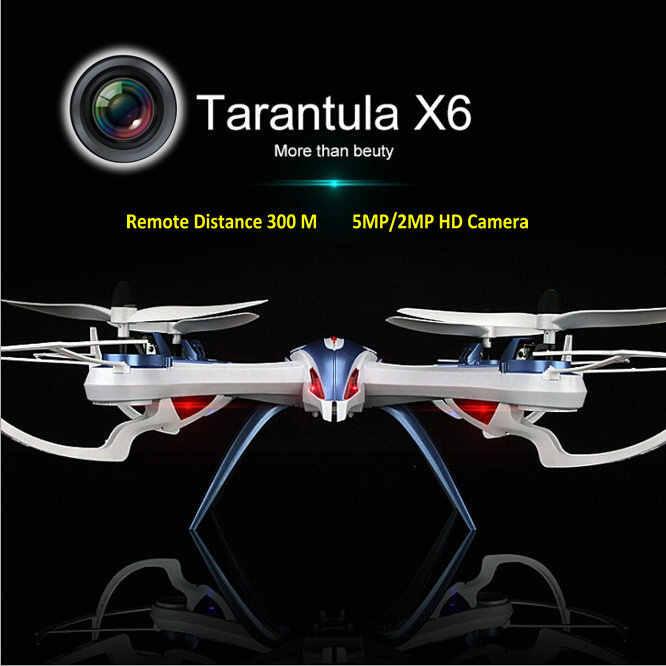 YiZhan Tarantula X6 4-Axis RC helicóptero Drone juguete modelo puede agregar gran angular 5MP o 2 MP cámara con larga distancia remota 300M