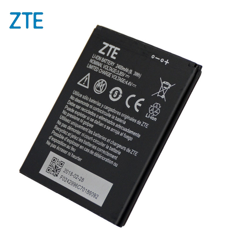 Original ZTE Li3824T44P4h716043 battery For ZTE Blade A520 A521 BA520 2400mAh