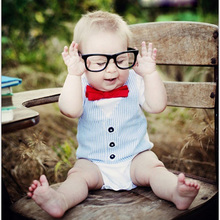 Baby Infant One-piece Unibody Jumpsuit Short Sleeves Conjoined T-Shirt