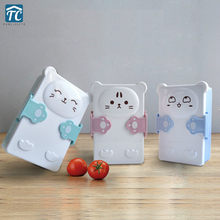 Cute Student Lunch Box Department Portable Microwave Oven Heated Separation Cartoon Storage Dinnerware Bento Picnic Containers(China)