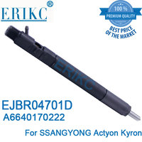 A6640170221 ERIKC EJBR04701D Diesel Fuel Injectors Injector EJB R04701D (A6640170222) Diesel Pump Parts Injection for SSANGYONG