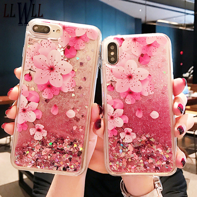 Cellphones & Telecommunications Phone Bags & Cases For Redmi Note 7 Glitter Liquid Case For Xiaomi Redmi Note 7 Silicone Coque Redmi Note 7 Dynamic Qicksand Star Love Heart Cover Modern And Elegant In Fashion