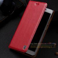 Retro Genuine Leather Flip Stand Case For Xiaomi Redmi 4X 4 X 5 0 Luxury Leather