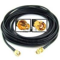 3 м WI-FI Беспроводной сетевой карты маршрутизатора Телевизионные антенны расширенная линия RP SMA революция RG174 чистый Медь подачи наличии разъ...