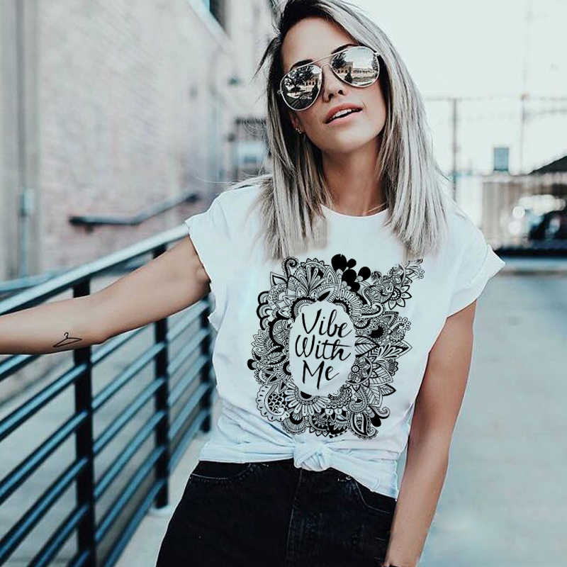 Plus ขนาดผู้หญิงใหม่แฟชั่น T เสื้อฤดูร้อนด้านบนเสื้อลำลองผู้หญิงเซ็กซี่ T เสื้อพิมพ์เสื้อ Harajuku Tees Tops punk Rock เสื้อผ้า