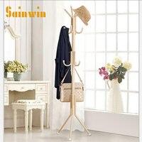 Sainwin 1 unids metal percha dormitorio abrigo y sombrero soporte perchas casa cuelgan rack bolsa 11 gancho