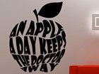 An Apple A Day Keep ...