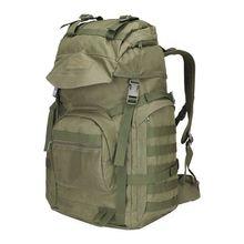 Купить с кэшбэком New 50L Men's Large Capacity Travel Bags Camouflage Military Tactics Backpack Multifunction Waterproof Oxford Hike Camp Backpack