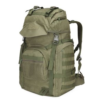 New 50L Men's Large Capacity Travel Bags Camouflage Military Tactics Backpack Multifunction Waterproof Oxford Hike Camp Backpack best large 50l professional cr system climb backpack travel camp equipment hike gear trekking rucksack for men women