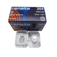 10pcs/lot 100% Renata Brand Swiss 394 1.55V Battery Silver Oxide 364 SR621SW Watch Batteries стоимость