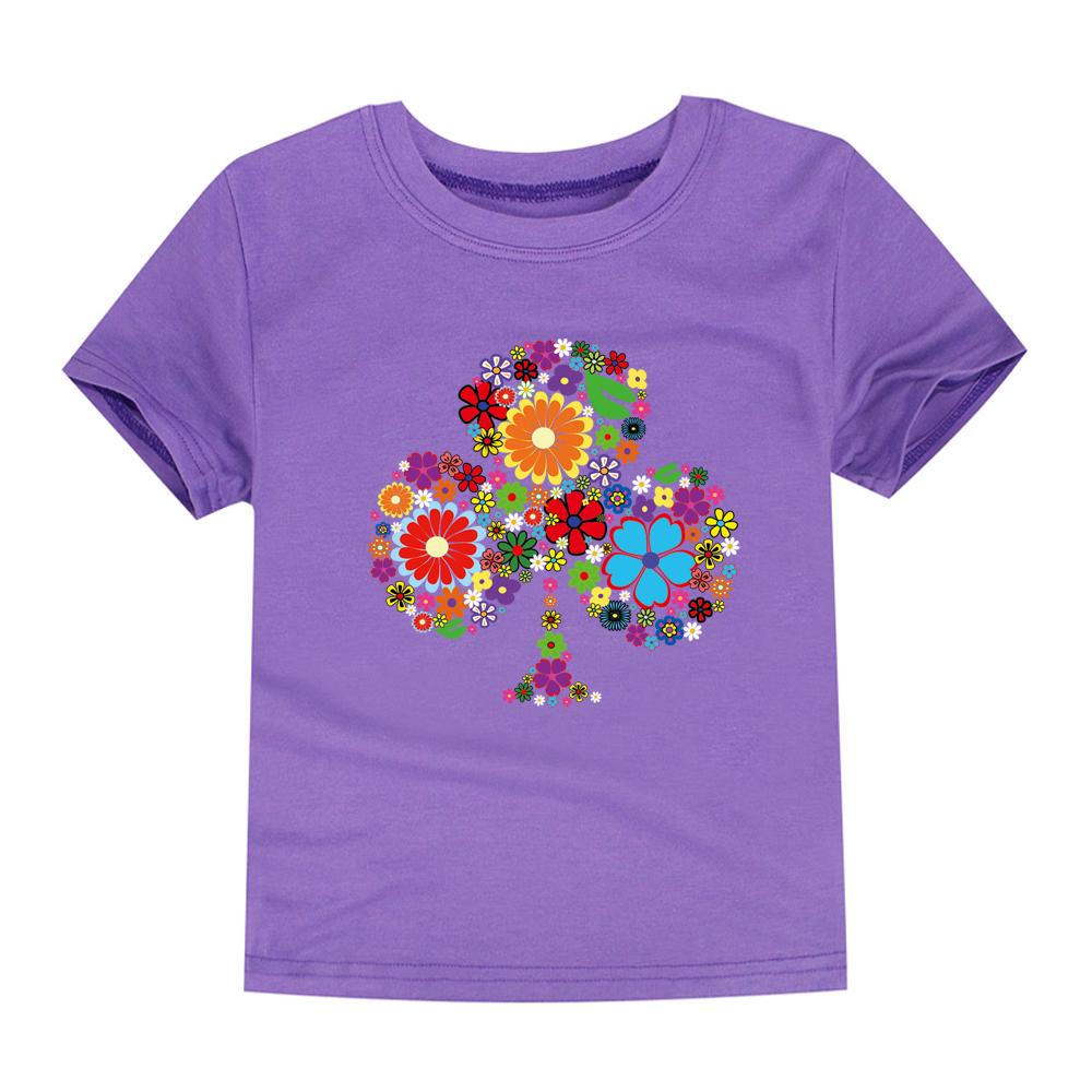 HTB1qBrURFXXXXa3XVXXq6xXFXXXP - TINOLULING 2018 Summer Kids Flower Tree T-Shirt Boys Girls Tree T Shirt Children Tops Baby Tees For 2-14 Years