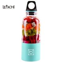 LSTACHi 500ml Portable Electric USB Juicer Cup Rechargeable Orange Citrus Lemon Fruit Juicer Blender Juice Smoothie Maker