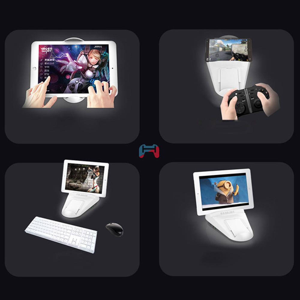 Handjoy Kmax Adapter Gaming Dock keyboard Handle Grip Converter For IOS/Android gamepad joystick for samsung galaxy s8