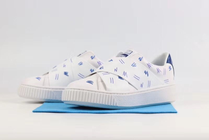 The new PUMA original Women's x Shantell Martin Clyde Clear
