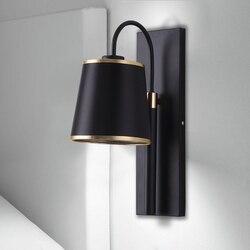 Nowoczesny minimalistyczny nordycki kreatywny oświetlenie salon lampa ścienna do sypialni