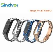 NEW Mi Band 2 Strap Metal Bracelet Smart Accessories for Xiaomi mi band Stainless Steel