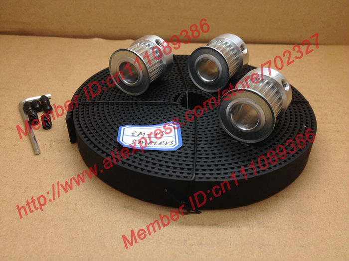 5Meters open 3M timing belt width 15mm + 3pcs 24 teeth bore12mm HTD 3M Timing Pulley for laser engraving CNC machines5Meters open 3M timing belt width 15mm + 3pcs 24 teeth bore12mm HTD 3M Timing Pulley for laser engraving CNC machines
