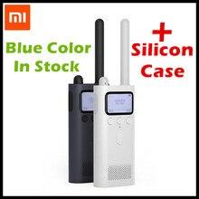 (In Stock 20PC) Original Xiaomi Mijia Smart Walkie Talkie FM Radio 8 Dayds Standby Smart Phone APP Location Share Fast Team Talk