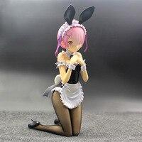 15cm Re Zero kara Hajimeru Isekai Seikatsu Ram Rabbit action figure PVC toys collection anime cartoon model toys collectible