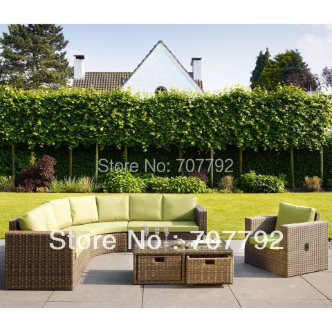 online get cheap marrone mobili da giardino -aliexpress.com ... - Mobili Da Giardino In Rattan Vita Moderna