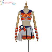 LoveLive!Sunshine!! Aqours Takami Chika Cheerleading Skirt Suit Cosplay Costume ,Perfect Custom For you!