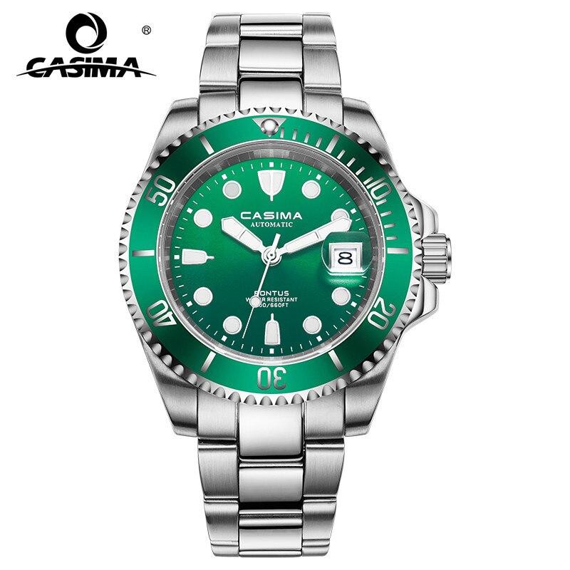 Reloj Hombre Casima Hommes Diver Sport Montre De Luxe Imperméable Militaire Automatique Mécanique Montres Armée Horloge Relogio Masculino