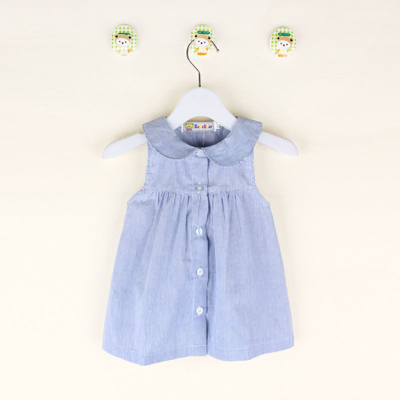 pudcoco 2017 Summer Girl Dress Children Kids Girls Leopard Sleeveless Cotton Dresses