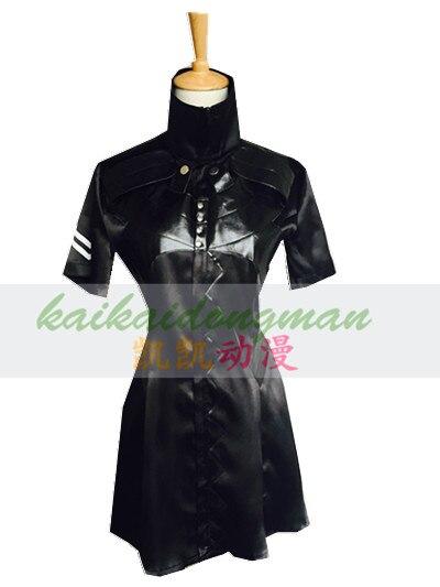 все цены на 2016 Tokyo Ghoul Ken Kaneki Cosplay Costume Women Style Ken Kaneki Dress In Black