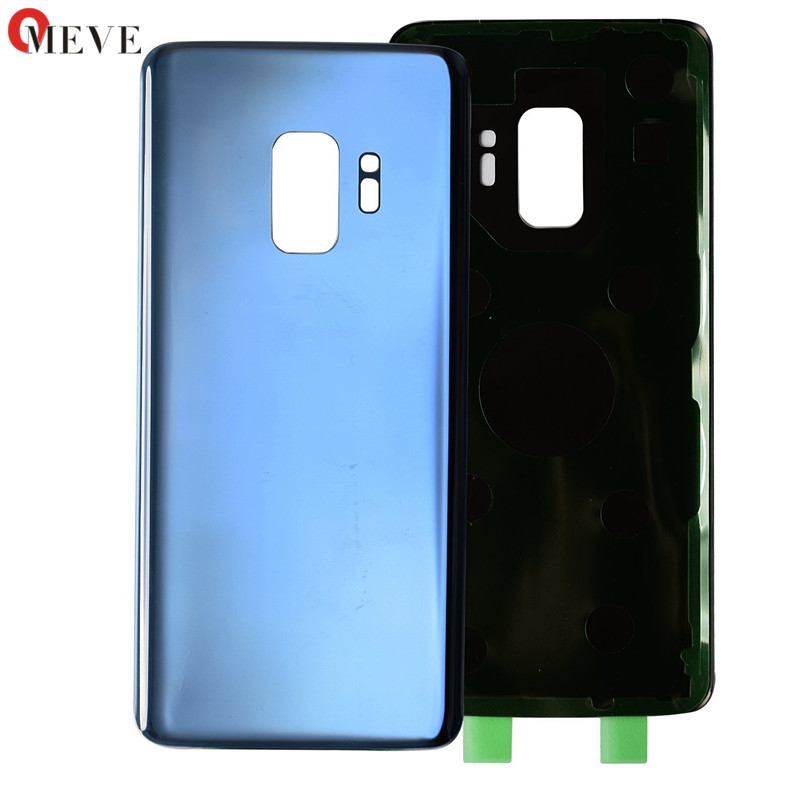 Back Glass Replacement For Samsung Galaxy S9 G960 G960F / S9+ S9 Plus G965 G965F Battery Cover Rear Door Housing Case