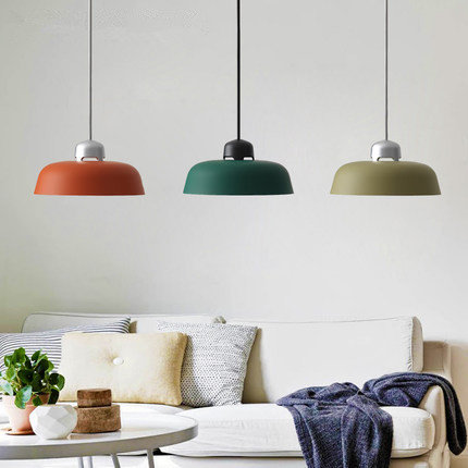 Colorful Nordic LED Pendant Lights Modern Simple Pendant Lamp Creative Hanglamp Fixtures For Home Lightings Lamparas Colgantes colorful iron geometry pendant light nordic modern creative hanglamp fixtures for home lighting bar cafe lamparas colgantes