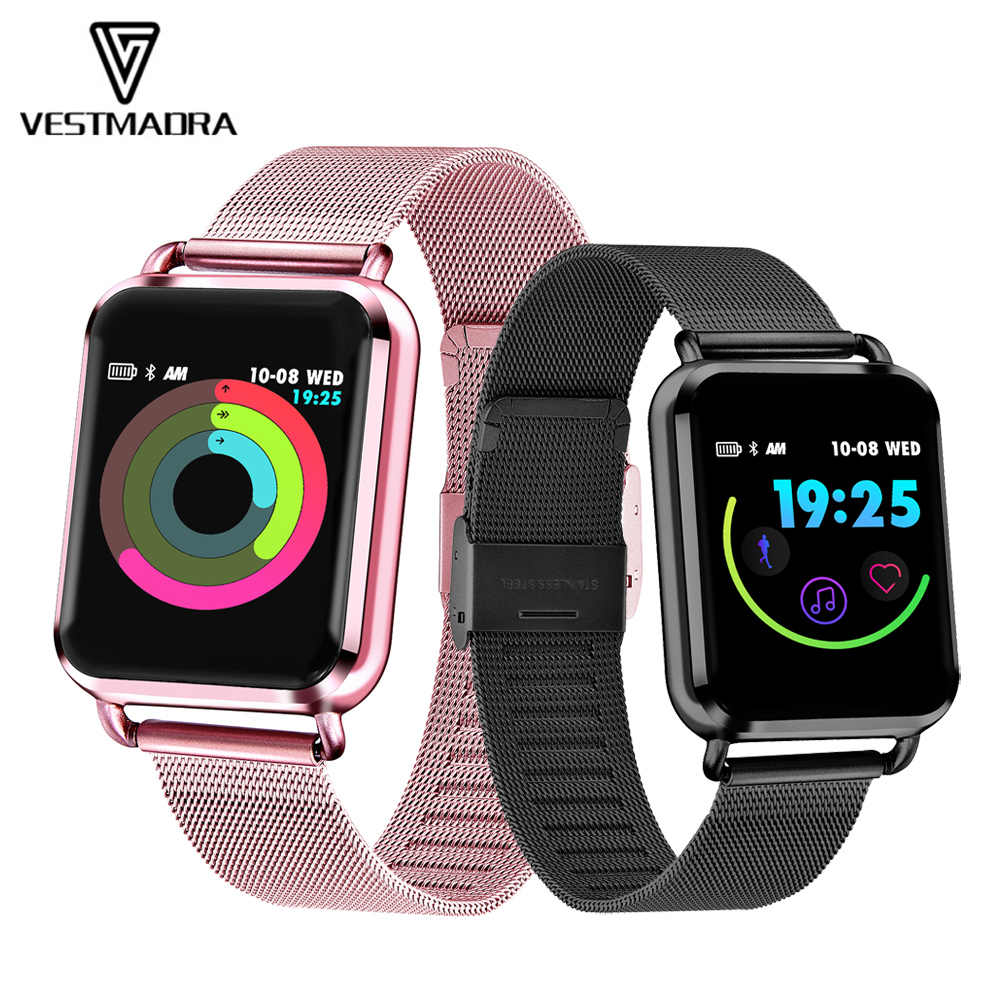 VESTMADRA Q3 Smart Watch Dynamic Blood Pressure Fitness Tracker Female Physiological Cycle Pedometer Heart Rate Smartwatch
