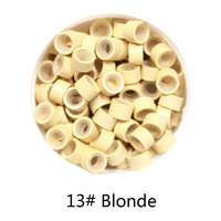1000 Pcs 5 0mm 3 0mm 3 0mm Microring Con Vite Silicone Micro Rings Beads For