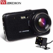 Car DVR Camera 4″ IPS Dash Cam video Recorder Full HD 1080P 170 Wide Angle Auto Dash Camera Dashcam G Sensor Night Version
