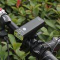 Велосипедная фара Водонепроницаемая 2500MA большая батарея длительный срок службы велосипедный фонарь Передний фонарь USB зарядка MTB