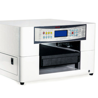 Digital Flatbed UV Printer For Aluminium Sheet PVC Plastic Pad