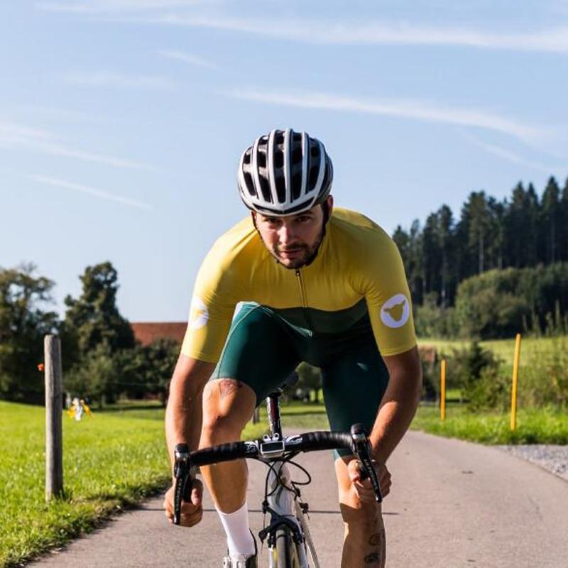 2017 High quality black sheep cycling jersey and bib shorts Tight fit Pro team Summer Men women Cycling kit mtb bike shirt
