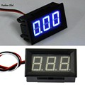 LED DC 0-30V Blue LED Panel Meter Mini Digital Voltmeter tester Volt Gauge voltimetro testador de voltagem spanningstester