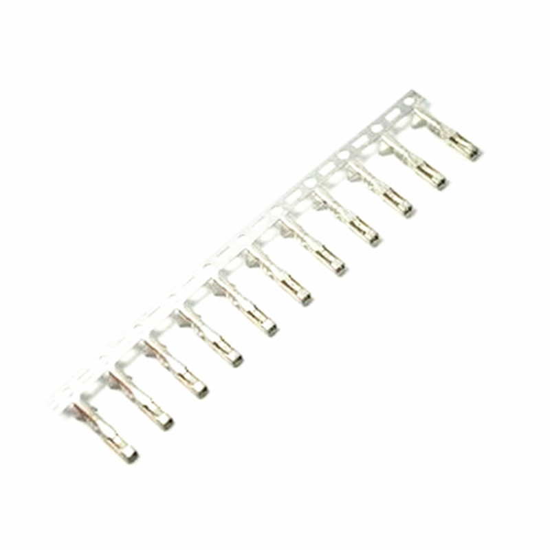 100 pcs 2 54mm female dupont jumper wire terminal